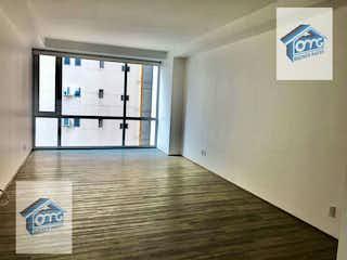 Una habitación que tiene una ventana en ella en Departamento en venta en Lomas de Santa Fe, de 90mtrs2