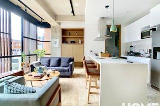 Moderno Apartamento Industrial de 1 Habitación y Estudio, Virrey