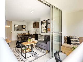 Una sala de estar llena de muebles y una mesa en Zaban Apartamentos - Etapa 1