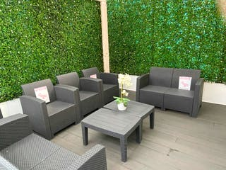 Una sala de estar llena de muebles y una mesa en VENTA CASA POLANCO II SECCIÓN CON USO DE SUELO CAS_1753 AA