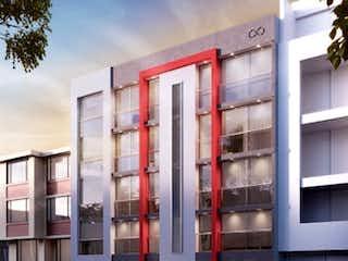 Un gran edificio con un montón de ventanas en venta de apartamento sector Batan