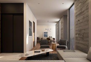 Serrano residencias, Departamentos en venta en Lomas Del Chamizal de 2-3 hab.