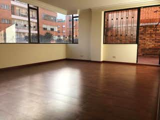 Una vista de una sala de estar y una sala de estar en Edificio Torre Molinos