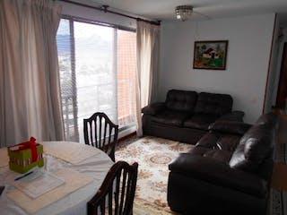 Una sala de estar llena de muebles y una ventana en Apartamento en venta en Barrio Pasadena de 65m² con Gimnasio...