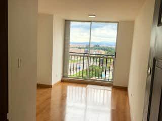 Una vista de una sala de estar desde una ventana en NUEVO! APARTAMENTO DE 40M2 - VILLA DEL RIO SUR
