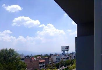Departamento en venta en Col. Algarín, 92 m² con balcón