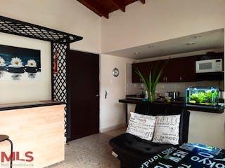 Una sala de estar llena de muebles y una televisión de pantalla plana en No aplica