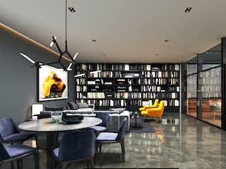Una sala de estar llena de muchos muebles en Vista Hermosa 380