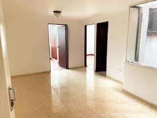 Un cuarto de baño con dos lavabos y una ducha en Apartamento En Venta En Bogota Bella Suiza-Usaquén