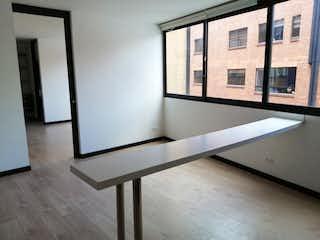 Una vista de una sala de estar desde una ventana en Apartamento en venta en El Virrey, 67m²