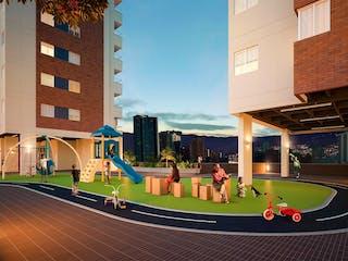Apartamento en venta en Restrepo Naranjo con acceso a Gimnasio