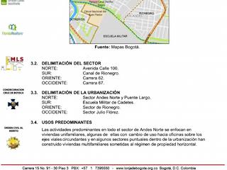 Los Andes, amplio apto. de 3 habitaciones, CSB, terraza