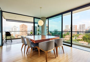 Apartamento en el Poblado, Cincueterre cuenta con tres habitaciones