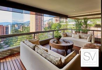 Apartamento en venta en Los Balsos de 305m²