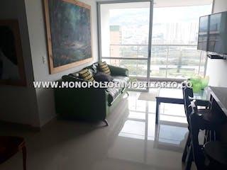 Una imagen de una sala de estar con un gran ventanal en LA QUINTA 1003