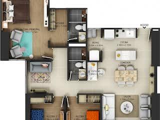 Apartamento 2606 / Ventus