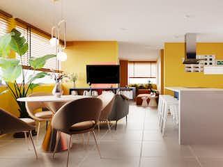 Apartamento de 77,32 mt2  Ubicado en Chapinero
