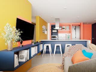 Apartamento  en chapinero de 77 mt2 renovado sobre planos