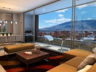 Una sala de estar llena de muebles y una gran ventana en Reserva de Santa Teresa