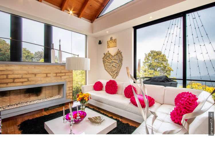 Portada Hermosa casa campestre en la Calera - con tres habitaciones c/u con baño