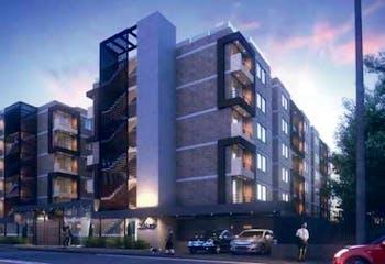 Apartamento En Venta En Chia, cuenta con 3 habitaciones y 2 balcones.
