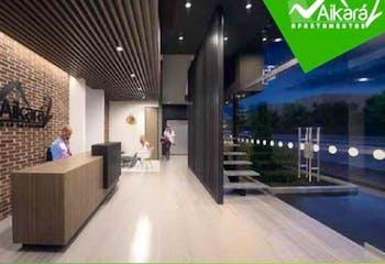Apartamento en venta en Casco Urbano Chía, 60m² con Bbq...