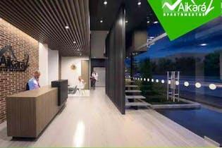 Apartamento en venta en Casco Urbano Chía 60m² con Bbq...