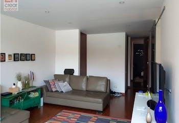 Vende Apartamento santa Barbara Bogota, con 2 habitaciones y 2 parqueaderos