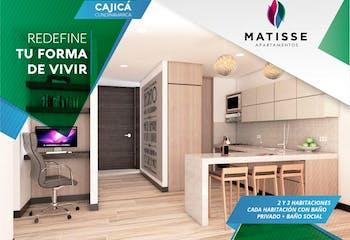 Matisse, Apartamentos en venta en Cajicá con 3 habitaciones
