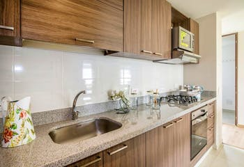 Apartamento En Venta En Bogota La Felicidad-La Cima, cuenta con 2 habitaciones.