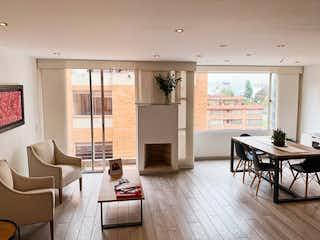Vende Renta apartamento  Chico Navarra, 117m2, 3 alcobas,3 wc, balcon