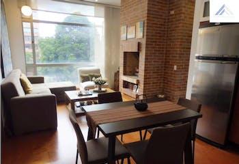 Apartamento en Venta con 72m2, 2Habitaciones en Chicó Reservado.
