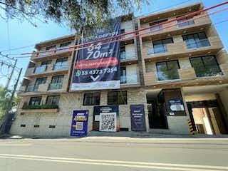 Departamento en venta en Tetelpan 69m²