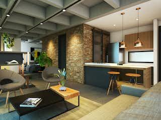 Una sala de estar llena de muebles y una televisión de pantalla plana en Awa Living