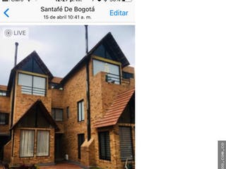 Casa en venta en Fusca, Chía
