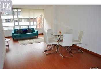 Apartamento en venta, El Nogal-Bogotá, cuenta con 2 habitaciones.