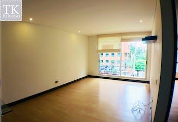 Apartamento en venta, Chicó-Chapinero, cuenta con 2 habitaciones.