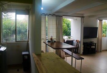 Conjunto puerta madera, Apartamento en venta de 2 habitaciones