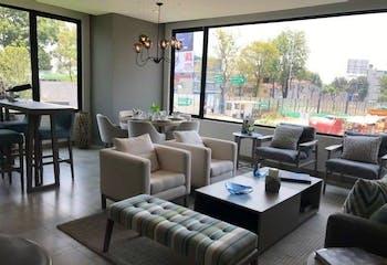 Departamento en venta en Polanco, 208mt con terraza
