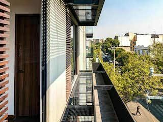 Depto. exterior con balcón en Córdoba