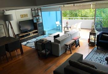 Departamento en venta en Condesa de 233 mt2. Penthouse