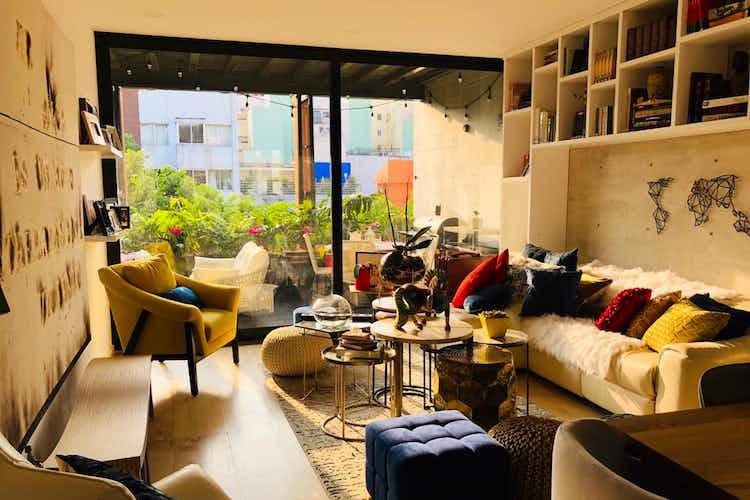 Portada Departamento en venta en Roma Norte, 148 m² con balcón
