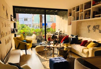 Departamento en venta en Roma Norte, 148 m² con balcón