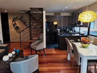 Chico Navarra Moderno Apartamento Duplex con Terraza Amplia