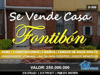 Casa en venta en El Tintal, 94m²