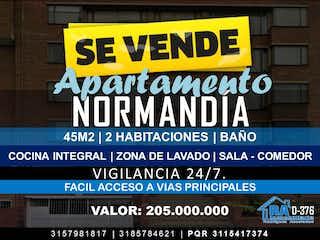 Apartamento En Venta En Bogota Normandia