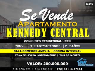 Apartamento en venta en Barrio Kennedy con Zonas húmedas...