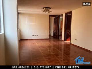 Una vista de un pasillo desde un pasillo en Apartamento en venta en Barrio Kennedy con Zonas húmedas...