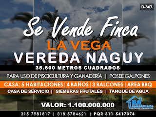 Casa en venta en Casco Urbano La Vega 300m² con Bbq...