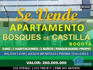 Apartamento en venta en Castilla 54m² con Gimnasio...